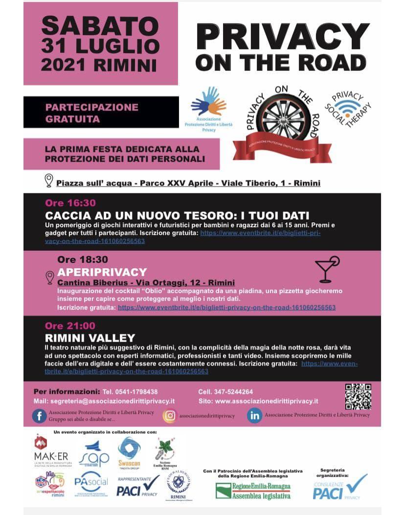 Privacy On The Road (Rimini)